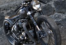 Old Skull Bike / Triumph