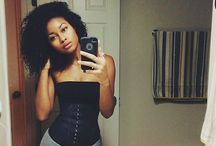 Ebony selfie