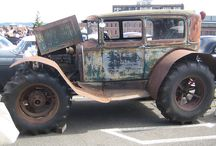 Rat Rod World / The ratiest Rods out there...