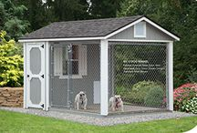 Dog Kennels / Keep your favorite furry friends safe, comfortable and happy with a Dog Kennel from Ulrich. Designed to offer proper ventilation and surfaces that are kind to your pets' paws, your dog kennel will be built with the finest quality materials.