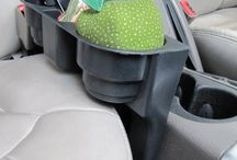 Storage for trips in the car