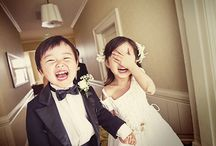Ring Bearer and Flower Girl / Cute kids steal the show.