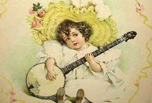 Maud Humphrey Bogart / 1868 - 1940 American illustrator , the actor's mother