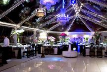 Clear tent for wedding