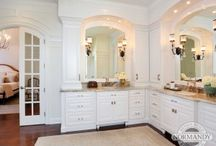 2015 Bathroom Remodeling Trends / Master Bathrooms are soothing spaces that are tailored not only to the user's personal sense of style, but addressing the desire to create a spa-like space that they can enjoyed every day.