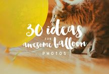 Photo ideas / Got stuck with your 365 project? Take a look, we have plenty of awesome ideas!