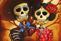 Kultura - Día de los Muertos  / Święto poświęcone zmarłym, obchodzone 1 i 2 listopada głównie w Meksyku i Ameryce Centralnej.