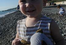 Солнце, море, дети и игрушки / Пляжный фотосет