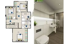 2D Floor Plan / Yantram Architectural Design Studio - Get 2D Floor Plans with or without room size, color, texture, material, furniture, finishes.  View more: http://www.yantramstudio.com/2d-floor-plan.html