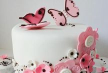 Cakes - flowers, buttons
