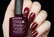 Cnd shellac colors