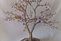 Деревья счастья / Деревья из натуральных камней.
