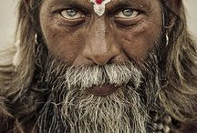 Sadhu Power / 'You cover your body in clothes, we cover it in ash!' - Sadhus.
