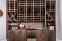 Wine Center & Storage / Great wine storage solutions that please the most discerning oenophiles and casual wine lovers!