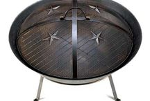 Western Stars Fire Pit from Ocean Tailer / Enjoy a night around the fire with your family and friends on a starry night with this western-inspired firepit.  The Western Stars Fire Pit is made with durable metal from its metal mesh lid down to the base and metal feet.  The Western Stars Fire Pit is available at http://shop.oceantailer.com/inventory/detail/3573. Get one now. #firepit #outdoor