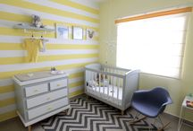 Decorar una habitación de bebé / Decoración en tonalidades amarillas con gris para bebé #yellownursery,#yellowandgreypalette,#nursery,#babyroom,#habitaciónbebe,