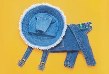 jean upcycling / by Pam Williams