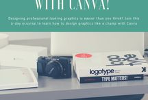 Canva for Work Tips and Tutorials for Small Businesses and Bloggers / Canva Design Ideas, Canva Tips, Canva for Work Graphic DesignTips and Tutorials for Small Businesses, Blogger and Solopreneurs that Love Canva