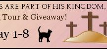 Blog tour for Cats are Part of His Kingdom, Too 5/14 / Seasons of Humility is going to be hosting a blog tour for our Mom's Daily Devotional book, Cats are Part of His Kingdom, Too.  You can win prizes!