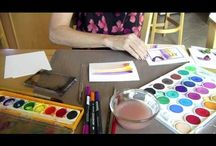 ART TUTORIAL VIDEOS / by Mary Perlow