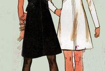 Vintage woman's dress
