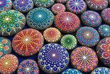 kameny a mozaika / kamení