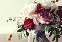 Rose Mason Jar