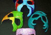 Carnaval / Venetiaanse maskers
