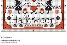cross stich- halloween