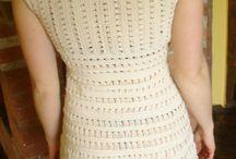 vestido vrocher