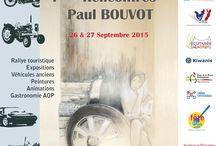 RPB 2015 Louhans / 1ères Rencontres Paul Bouvot Samedi 26 Septembre 2015 Journée 1, Rallye touristique en Bresse Bourguignonne. Départ et arrivée à Louhans 71500