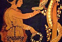 Древняя Греция рисунки на керамике