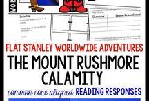 Novel Study: The Mount Rushmore Calamity