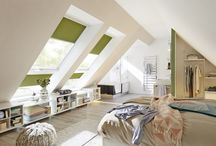 Schranksysteme unter Dachschrägen / Mit unseren Schranksystemen lassen sich Dachschrägen optimal als begehbarer Kleiderschrank nutzen. Unsere große Auswahl an Schrank- und Funktionselementen ermöglicht eine individuelle Gestaltung für jeden Raum.