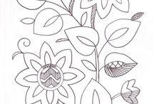 bordados moldes Annaís