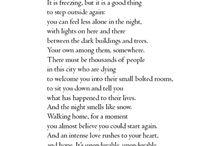 Poetry, Lyrics, & Words <3  / by Audry Rider