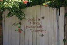 Garden Signs etc.