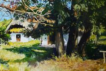 Ördögh László (1923-2007) festmények / Ördögh László festményei