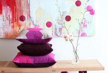 silk screening textiles inspiration / by Stephanie Galka