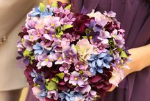 wedding bouquet (ブルー紫系)