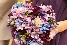 wedding bouquet (ブルー紫系)