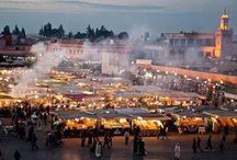 Marrakech / the most colorful, busy and happy city in Morocco