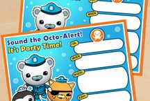 FREE Octonauts Party Printables