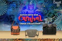 Check Out Our Carnival Collection! / Our fantastic new #CarnivalCollection is out and ready to hit stores!  Made from luxurious cruelty-free fabric and materials these #accessories are just the thing you need to spruce up your look. Life's a party - live it loud. Avail these beauties at www.baggit.com