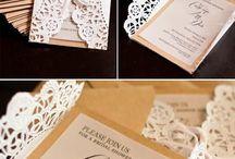 doilie paper invite