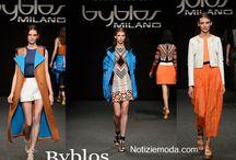 Byblos / Byblos collezione e catalogo primavera estate e autunno inverno abiti abbigliamento accessori scarpe borse sfilata donna.