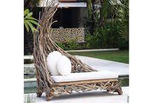 Teak & Suar Wooden Outdoor Furniture