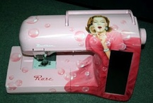 Painted Sewing Machines Ideas
