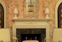 Interior: Gournay wallpaper