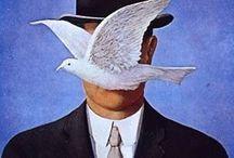 Artist Rene' Magritte